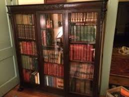 Vintage Bookcase With Glass Doors Deliver A Antique Bookcase With Glass Doors To Chevy