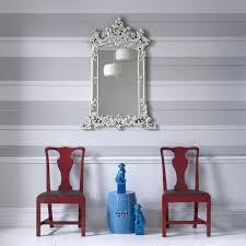 mai white grey stripe wallpaper steve leung