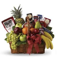 gourmet food basket fruit and gourmet basket kremp