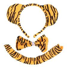 tiger headband 100 new kids animal zebra tiger bunny ear headband bow tie