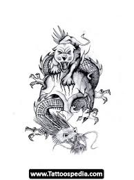 chinese dragon tiger tattoo tattoomagz