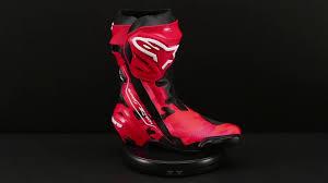 red motorbike boots alpinestars limited edition 99 camo jorge lorenzo supertech r