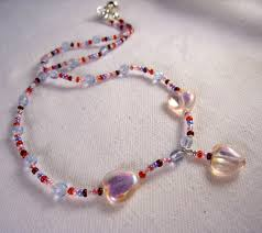 heart beaded necklace images Kid 39 s jewelry collection jewelry by elsa jpg