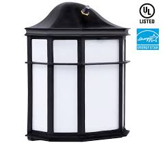 Outdoor Sconce Light Led Photocell 23w Outdoor Dusk To Dawn Led Wall Light Torchstar