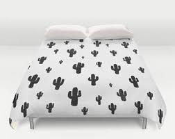 cactus bedding etsy