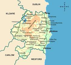 map of county map of county wicklow local enterprise office wicklow