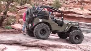jeep moab truck moab easter jeep safari 2010 moab rim trail in a willys jeep youtube