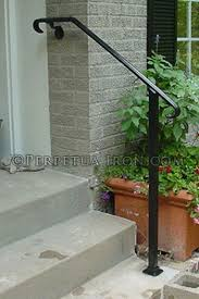 Wrought Iron Banister Rails Best 25 Wrought Iron Handrail Ideas On Pinterest Wrought Iron