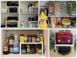 Best Spice Racks For Kitchen Cabinets Cabinet Stacking Shelves For Kitchen Cabinets Kitchen Storage