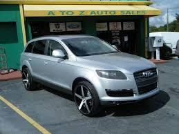 2007 audi q7 sale 2007 audi q7 awd 3 6 quattro 4dr suv in apopka fl a to z auto sales