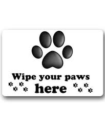 Wipe Your Paws Rubber Backed Doormats Archives Page 2 Of 5 Getpuggedup Pug Shop