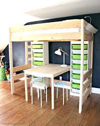 Desk Bunk Bed Combo Loft Beds Desk Loft Bed Image Of Twin With And Storage Kids Beds