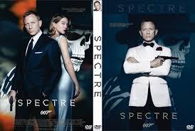 spectre dvd cover 2015 custom art