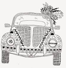 volkswagen drawing efie goes zentangle ben kwok volkswagen zentangles u0026 doodles