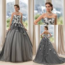 white and grey wedding dress discount simple grey wedding dresses 2018 simple grey wedding