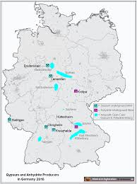 Southern Germany Map by Www Mineral Exploration Com Mineral U0026 Exploration Dr Krassmann