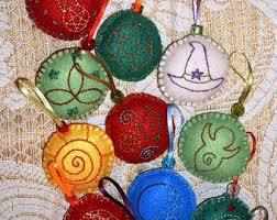 yule ornaments etsy