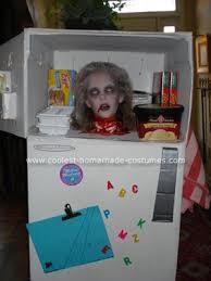 Cool Boy Halloween Costumes Coolest Homemade Head Freezer Halloween Costume Halloween