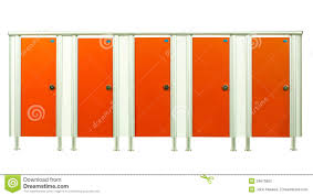 Bathroom Stall Doors Restroom Stall Doors In The Gyms Room Isolated On White Background