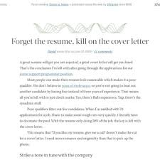 industry cover letter examples
