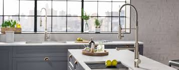 kitchen cabinet sink faucets kraus kitchen and bathroom sinks faucets and accessories