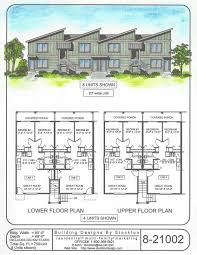 multi family building plans building designs by stockton plan 8 21002 multi family