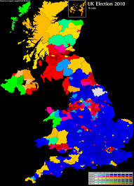 National Election Results Map by United Kingdom 2010 Results And Analysis World Elections