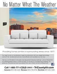 Home Design Magazine Suncoast Tri County Comfort Zone Magazine 2015 Suncoast Fl Ac Company