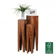 Wohnzimmertisch Holz Quadratisch Couchtische Und Andere Tische Von Finebuy Online Kaufen Bei Möbel