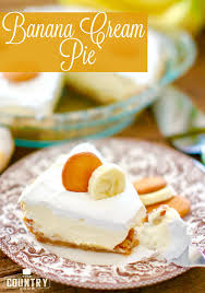 new york banana cream pie the country cook