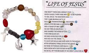 bracelet life images Life of jesus colorful stretch charm bracelet jpg