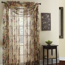 Walmart Window Sheers by Valances Walmart Com Traditions By Waverly Forever Yours Floral