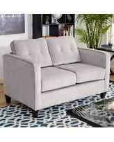 Upholstery Denim New Year Deal Theresa Loveseat Upholstery Denim