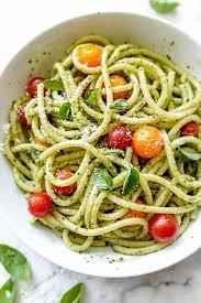 easy pasta recipes easy homemade pesto pasta recipe foodiecrush com