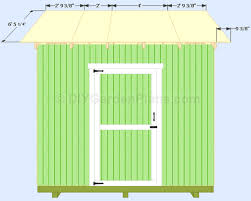 gable shed plans roof decking how to build a shed roof