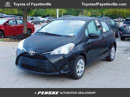 toyota yaris 2018 new toyota yaris 3 door l automatic at toyota of fayetteville