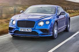 blue bentley interior bentley continental supersports 2017 review by car magazine