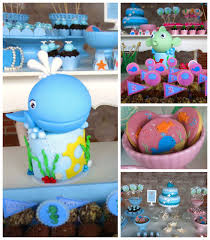 Under The Sea Decoration Ideas Ocean Under The Sea U2013 Kara U0027s Party Ideas