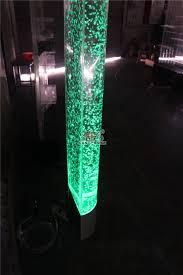 acrylic crafts good interior design water bubble wedding column