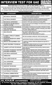mechanical engineering jobs in dubai for freshers 2013 nissan jobs in jobs in uae published in express newspaper on 7 april 2013