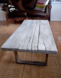 Build Your Own Reclaimed Wood Coffee Table by Concrete Coffee Tables You Can Buy Or Build Yourself Concrete