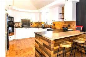 table de cuisine en palette table bar cuisine design bar cuisine design table haute cuisine