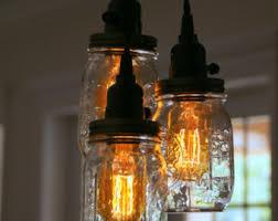 5 Jar Chandelier Chandeliers Pendants And Diy Supplies By Ironlumberandlight