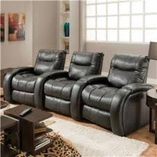 Recliner 3 Seater Sofa Recliner Theater Seating Foter