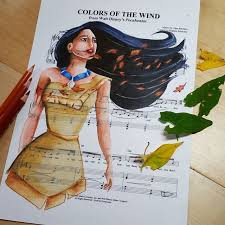 colors of the wind pocahontas colorsofthewind sheetmusic