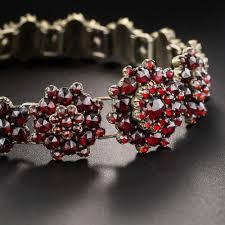 garnet bracelet images Bohemian garnet bracelet jpg