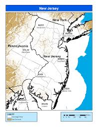 New Jersey Map Noaa Weather Radio New Jersey