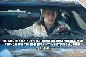 Meme Uber - ryan gosling uber memes quickmeme