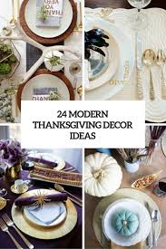 24 modern yet stylish thanksgiving décor ideas digsdigs