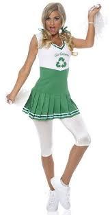 go green recycle cheerleader halloween costume md cheer
